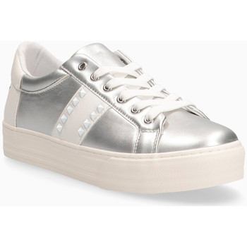 Scarpe Donna Sneakers basse Lolway Sneakers donna in ecopelle ARGENTO