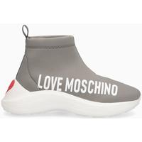 Scarpe Donna Sneakers alte Love Moschino Sneakers donna CENERE