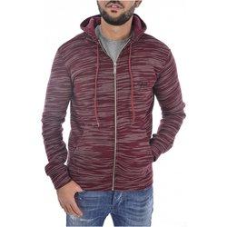 Abbigliamento Uomo Felpe Goldenim Paris Felpa zip 1247 rosso