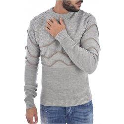 Abbigliamento Uomo Maglioni Goldenim Paris Maglioni 1249 grigio