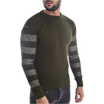 Abbigliamento Uomo Maglioni Goldenim Paris Maglioni 1255 verde
