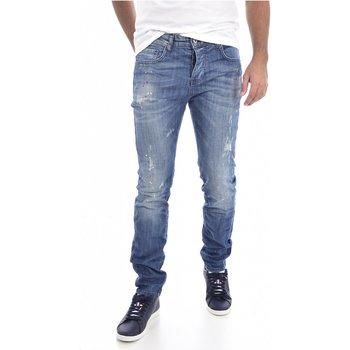 Abbigliamento Uomo Jeans slim Goldenim Paris straight 1311 blu