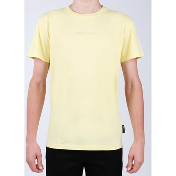 Abbigliamento Uomo T-shirt maniche corte DC Shoes DC EDYKT03376-YZL0 yellow