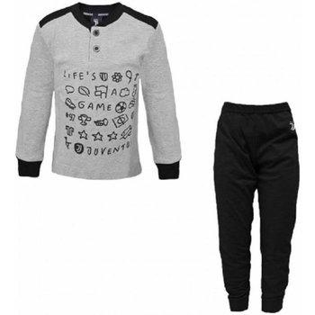 Abbigliamento Bambino Pigiami / camicie da notte Planetex Pigiama Bambino Juve Grigio