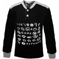 Abbigliamento Bambino Pigiami / camicie da notte Planetex Pigiama Bambino Juve Nero