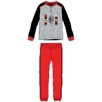 Abbigliamento Bambino Pigiami / camicie da notte Planetex Pigiama Bambino Milan Nero