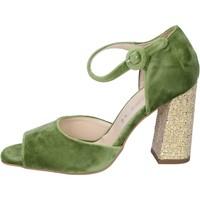 Scarpe Donna Sandali Olga Rubini BP385 Verde