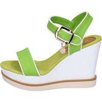 Scarpe Donna Sandali Enrico Coveri sandali pelle sintetica verde