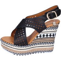 Scarpe Donna Sandali Enrico Coveri sandali pelle sintetica nero