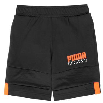 Abbigliamento Bambino Shorts / Bermuda Puma ALPHA JERSEY SHORT Nero