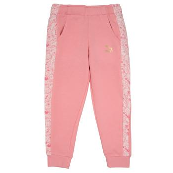 Abbigliamento Bambina Pantaloni da tuta Puma MONSTER SWEAT PANT GIRL Rosa