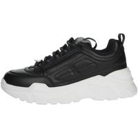 Scarpe Donna Sneakers alte Pregunta MCD001 NERO