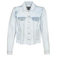 Abbigliamento Donna Giacche in jeans Vila VIANNABEL Blu / Clair