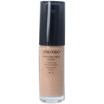 Bellezza Donna Fondotinta & primer Shiseido Synchro Skin Glow Luminizing Fluid Foundation r5 30 ml