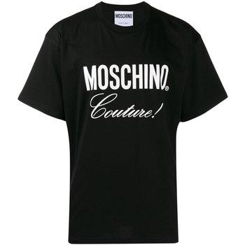 Abbigliamento Uomo T-shirt maniche corte Moschino maniche corte ZA0710 - Uomo nero