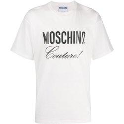 Abbigliamento Uomo T-shirt maniche corte Moschino maniche corte ZA0710 - Uomo bianco