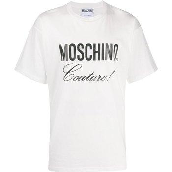 Abbigliamento Uomo T-shirt maniche corte Love Moschino maniche corte ZA0710 - Uomo bianco