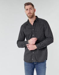 Abbigliamento Uomo Camicie maniche lunghe Diesel D-BER-P Nero