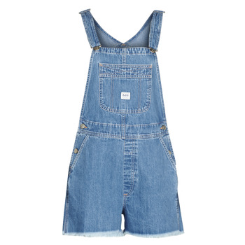 Abbigliamento Donna Shorts / Bermuda Lee BIB SHORT Blue / Washed
