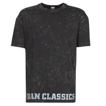 Abbigliamento Uomo T-shirt maniche corte Urban Classics TOBI Nero
