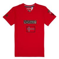 Abbigliamento Bambino T-shirt maniche corte Geographical Norway JIRI Rosso