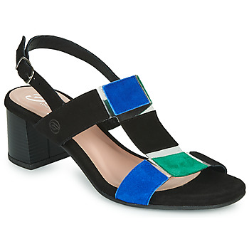 Scarpe Donna Sandali Betty London MATINE Nero / Verde
