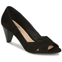 Scarpe Donna Décolleté Betty London MIRETTE Nero / Suede