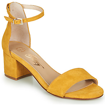 Scarpe Donna Sandali Betty London INNAMATA Giallo