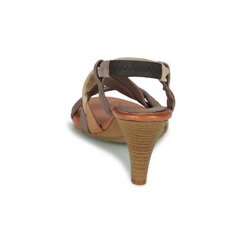 POULOI  Betty London  sandali  donna  camel IPe6M nXRcC