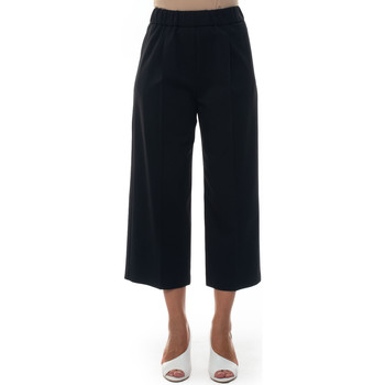 Abbigliamento Donna Pantaloni morbidi / Pantaloni alla zuava Blue Les Copains 0J30300131 Nero