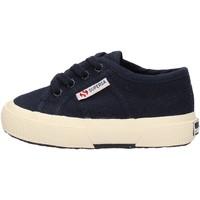 Scarpe Bambino Sneakers basse Superga - 2750 lacci blu S0005P0 2750 933 BLU