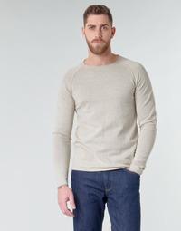 Abbigliamento Uomo Maglioni Jack & Jones JJEUNION Beige