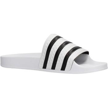 Scarpe Uomo Scarpe acquatiche adidas Originals - Adilette bianco 280648 BIANCO