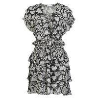 Abbigliamento Donna Abiti corti Replay  Nero / Bianco