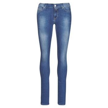 Abbigliamento Donna Jeans skynny Replay LUZ Blu / Scuro