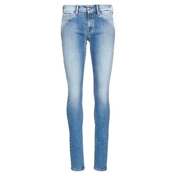 Abbigliamento Donna Jeans skynny Replay LUZ Blu / Medium