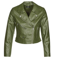 Abbigliamento Donna Giacca in cuoio / simil cuoio Only ONLENYA Verde