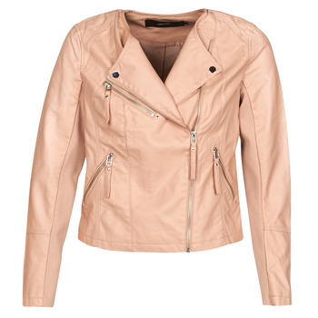 Abbigliamento Donna Giacca in cuoio / simil cuoio Vero Moda VMRIA FAV Rosa