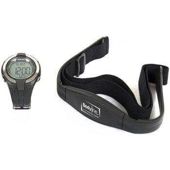Accessori Unisex bambino Accessori sport Bodyline Cardiofrequenzimetro con fascia Nero