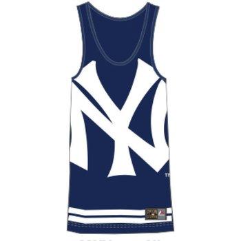 Abbigliamento Uomo Top / T-shirt senza maniche Majestic Canotta Rewar Yankees Blu