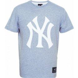 Abbigliamento Uomo T-shirt maniche corte Majestic T-Shirt Uomo Prism NYY Grigio