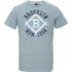 Abbigliamento Uomo T-shirt maniche corte Majestic T-Shirt Uomo Therma Brooklin Grigio