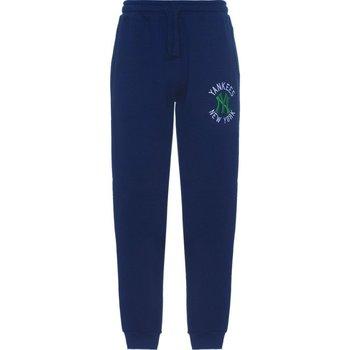 Abbigliamento Unisex bambino Pantaloni da tuta Majestic Pantalone Bambino Cuffed Blu