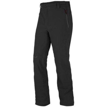 Abbigliamento Uomo Pantalone Cargo Salewa Pantaloni Trekking Uomo Puez Dolomia PL Nero
