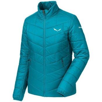 Abbigliamento Uomo Piumini Salewa Giacca Donna Trekking Fanes Tirolwool Azzurro