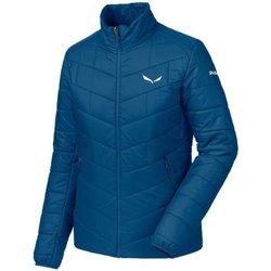 Abbigliamento Uomo Piumini Salewa Giacca Donna Trekking Fanes Tirolwool Blu