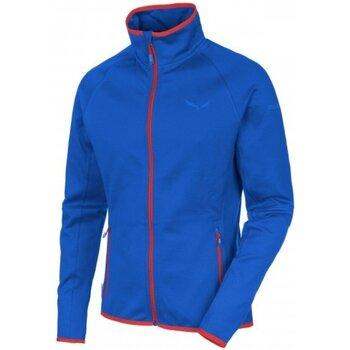 Abbigliamento Donna Felpe in pile Salewa Pile Uomo Predazzo Full Zip Blu
