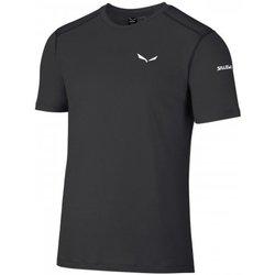 Abbigliamento Donna T-shirt maniche corte Salewa T-Shirt Uomo Sesvenna Wool Nero