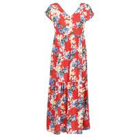 Abbigliamento Donna Abiti lunghi Betty London  Rosso / Bianco / Blu