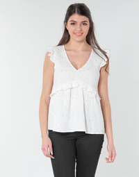 Abbigliamento Donna Top / Blusa Betty London MOUDINE Bianco / Dore